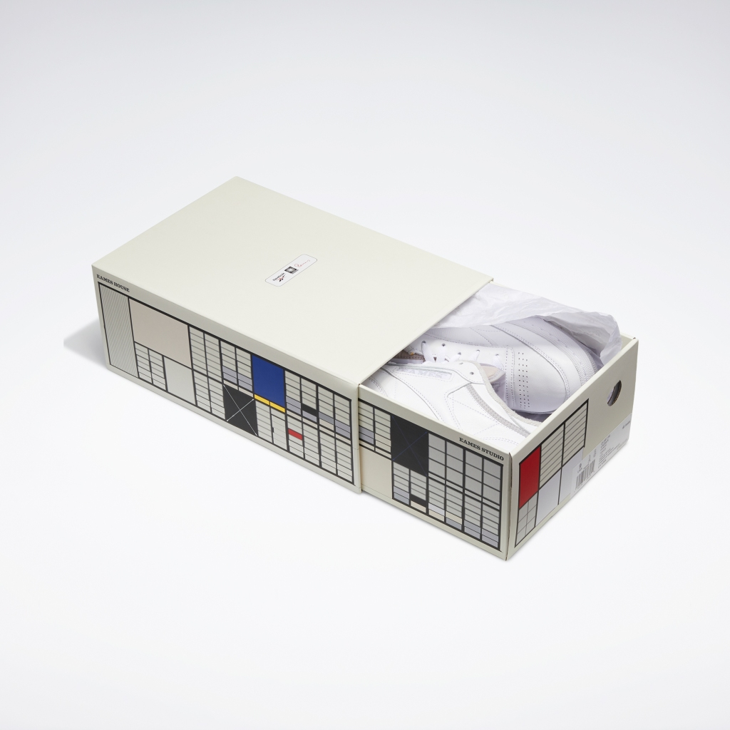 Reebok, sneakers, Club C sneakers, Monochrome, Reebok x Eames, Eames Office
