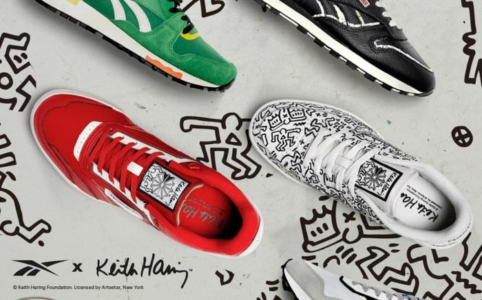 reebok keith haring sneakers