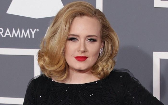 Adele, Grammy Awards, Giorgio Armani, Armani, black gown, red carpet, style evolution