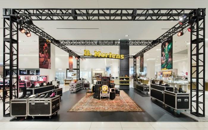 Dr. Martens x Nordstrom pop-up shop, NYC, Nordstrom flagship