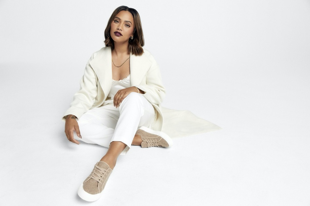 Ayesha Curry, justfab, fall, shoes, apparel, collab