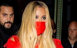 Khloe Kardashian, Christian Louboutin, Saturday Night