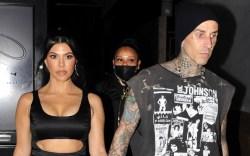 Kourtney Kardashian, Travis Barker, engagement, couples,