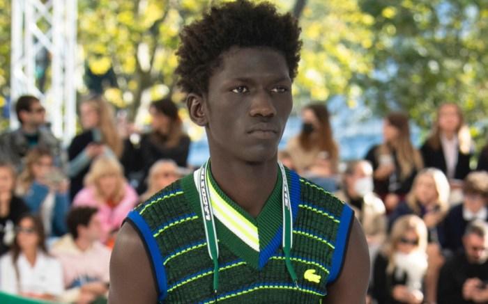 Lacoste, spring 2022, runway, paris fashion week