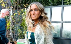 Sarah Jessica Parker is seen on