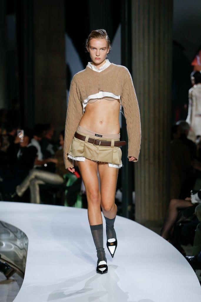 spring 2022 fashion trends, spring 2022 trends, fashion trends, paris fashion week, pfw, paris fashion week trends, pfw trends, runway, miu miu