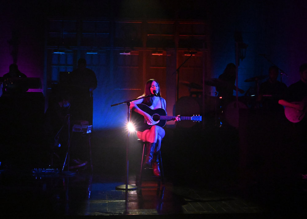 Kacey Musgraves, Saturday Night Live, cowboy boots, Western boots, Star-Crossed