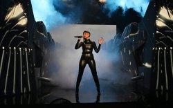 Halsey, Saturday Night Live, bodysuit, black