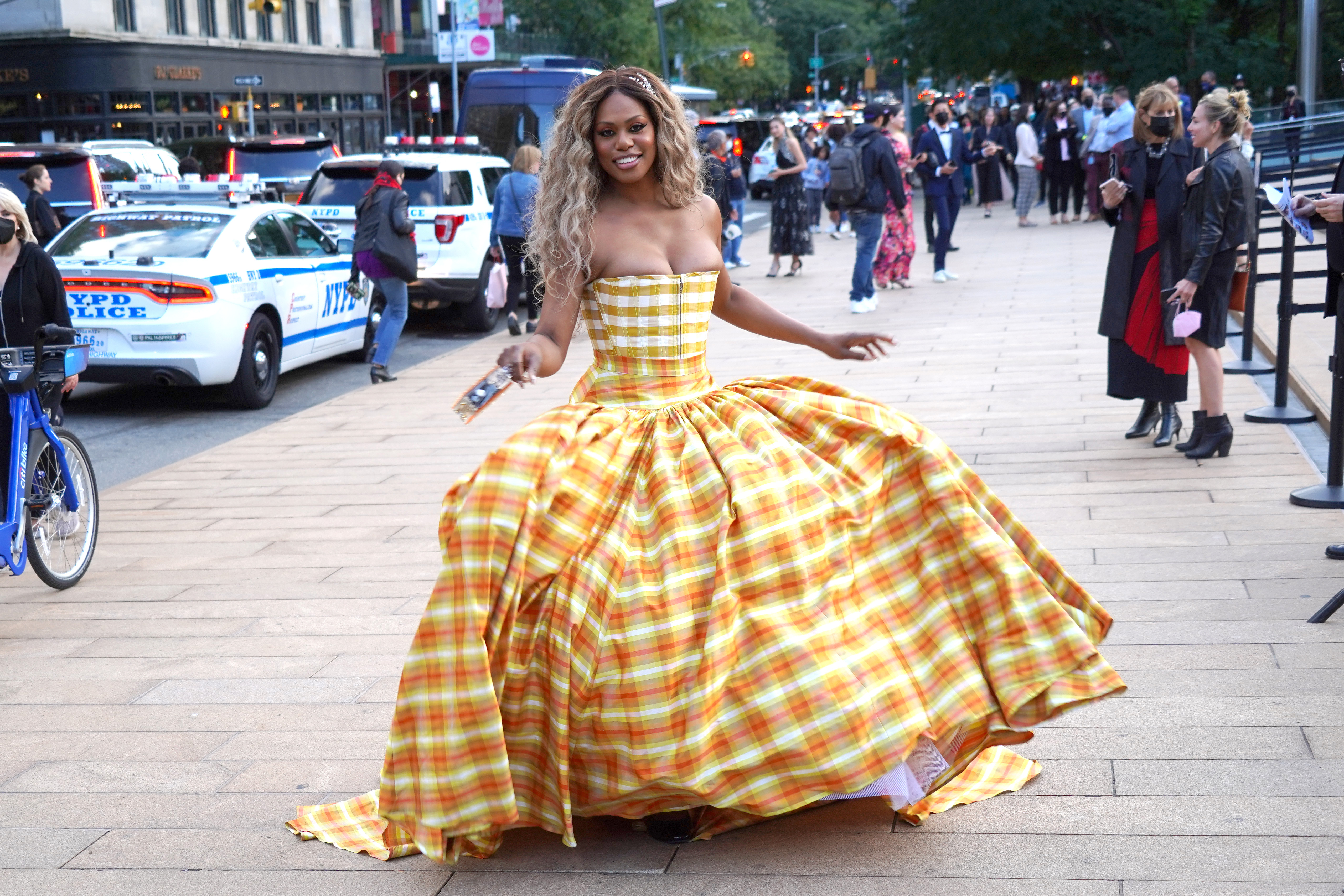 September 30, 2021, New York City, New York, USA: LAVERNE COX at the New York City Ballet 2021 Fall Fashion Gala,.Lincoln Center Plaza, NYC.September 30, 2021. (Credit Image: Sonia Moskowitz Gordon/ZUMA Press Wire)Pictured: Laverne CoxRef: SPL5262210 300921 NON-EXCLUSIVEPicture by: Sonia Moskowitz Gordon/Zuma / SplashNews.comSplash News and PicturesUSA: +1 310-525-5808London: +44 (0)20 8126 1009Berlin: +49 175 3764 166photodesk@splashnews.comWorld Rights, No Argentina Rights, No Belgium Rights, No China Rights, No Czechia Rights, No Finland Rights, No France Rights, No Hungary Rights, No Japan Rights, No Mexico Rights, No Netherlands Rights, No Norway Rights, No Peru Rights, No Portugal Rights, No Slovenia Rights, No Sweden Rights, No Switzerland Rights, No Taiwan Rights, No United Kingdom Rights
