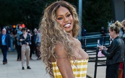 Laverne Cox arrives at the 2021