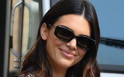 Kendall Jenner and Justine Skye visit