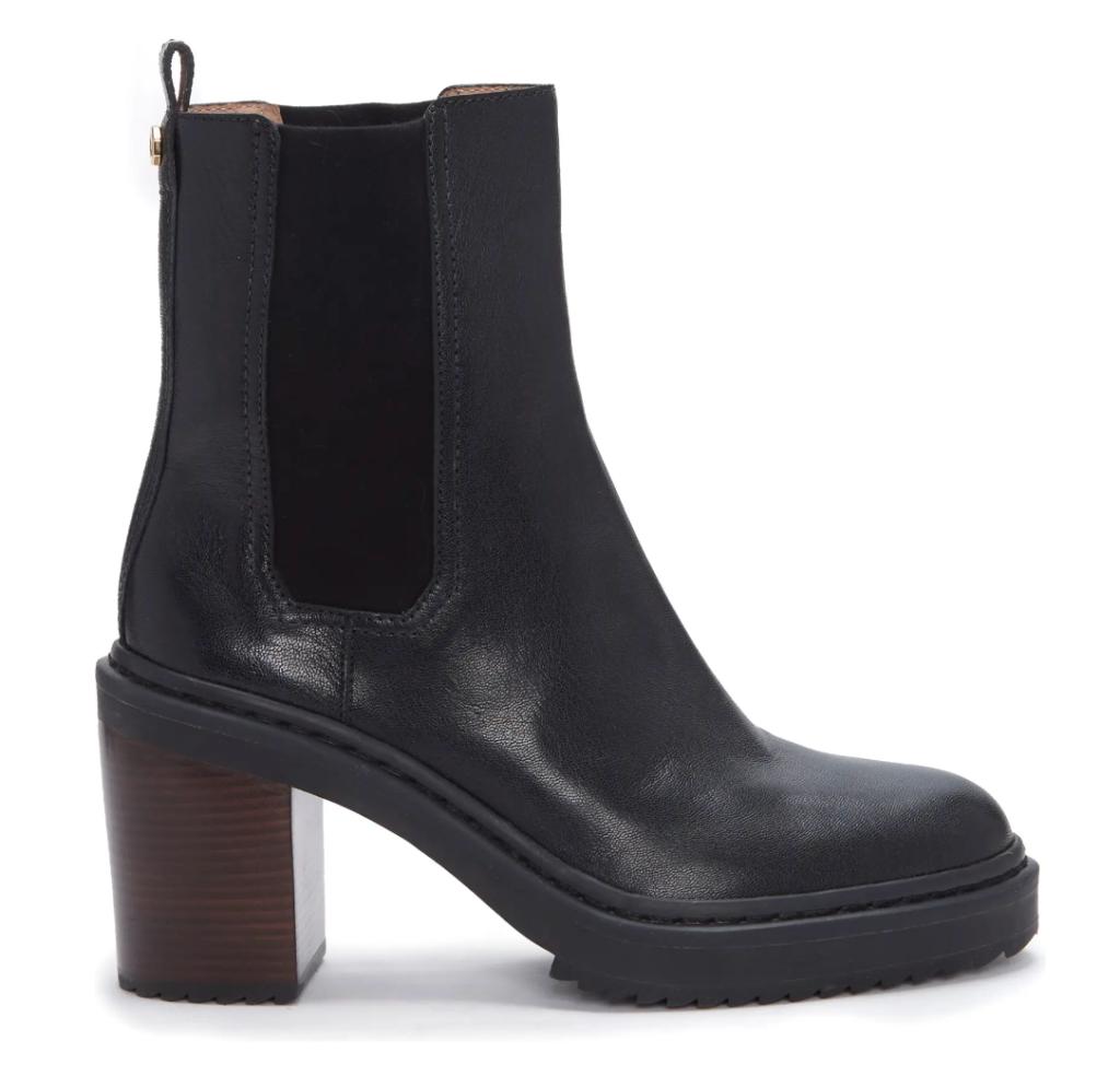 Louise et Cie, platform boots, combat boots, black boots, ankle boots