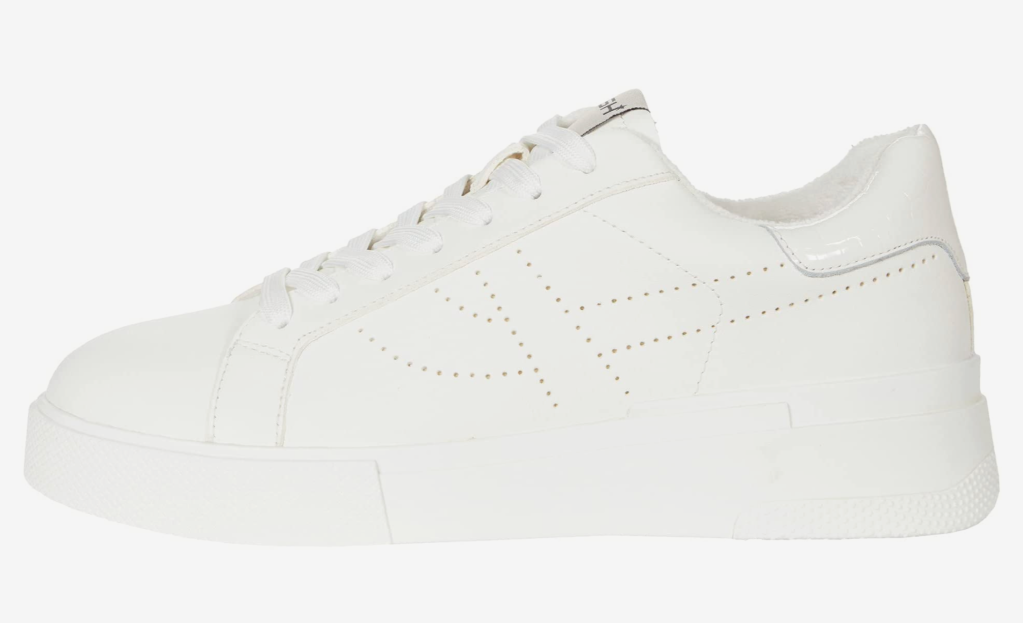Ash, white sneakers, low-top sneakers, lace-up sneakers