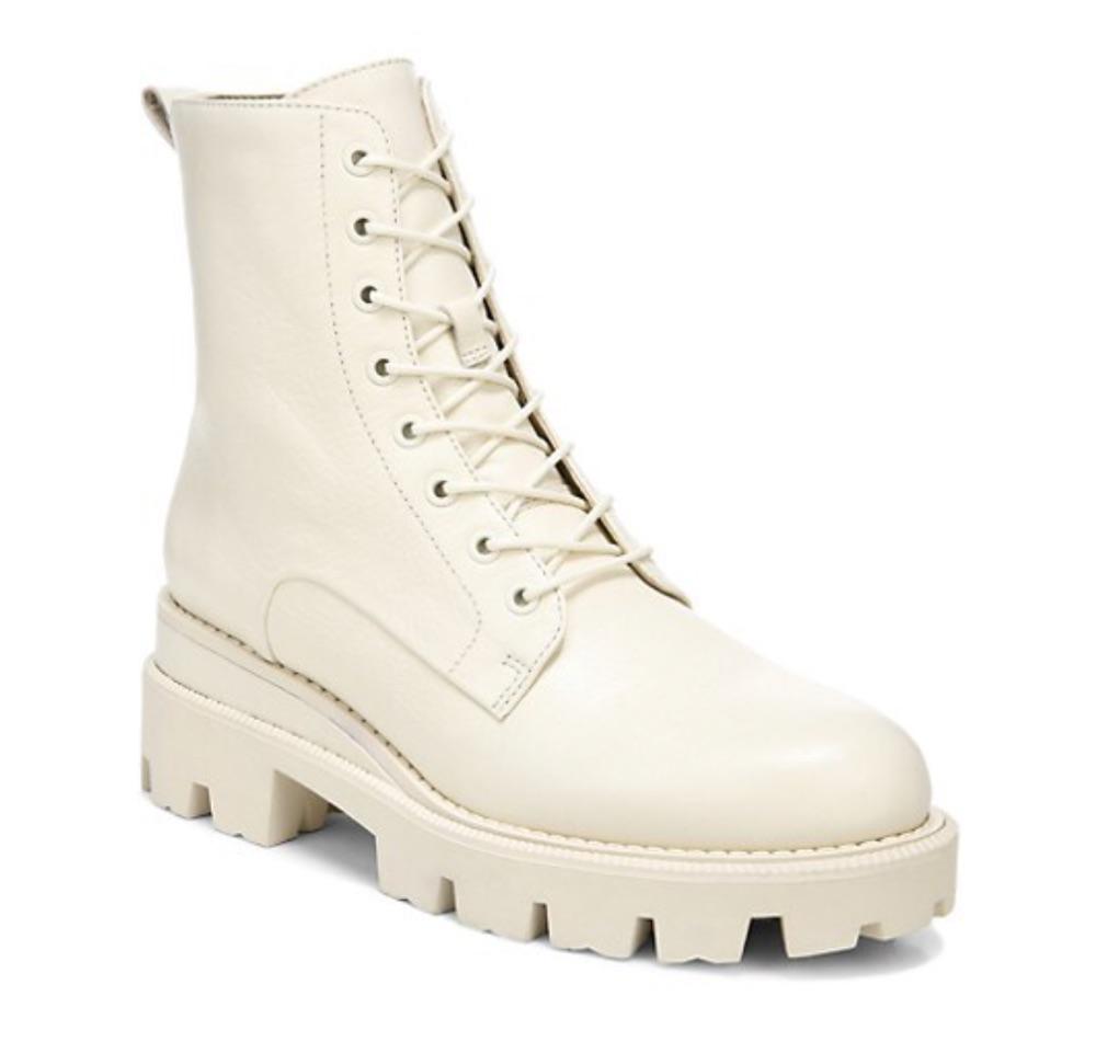 Sam Edelman Garret Leather Combat Booties