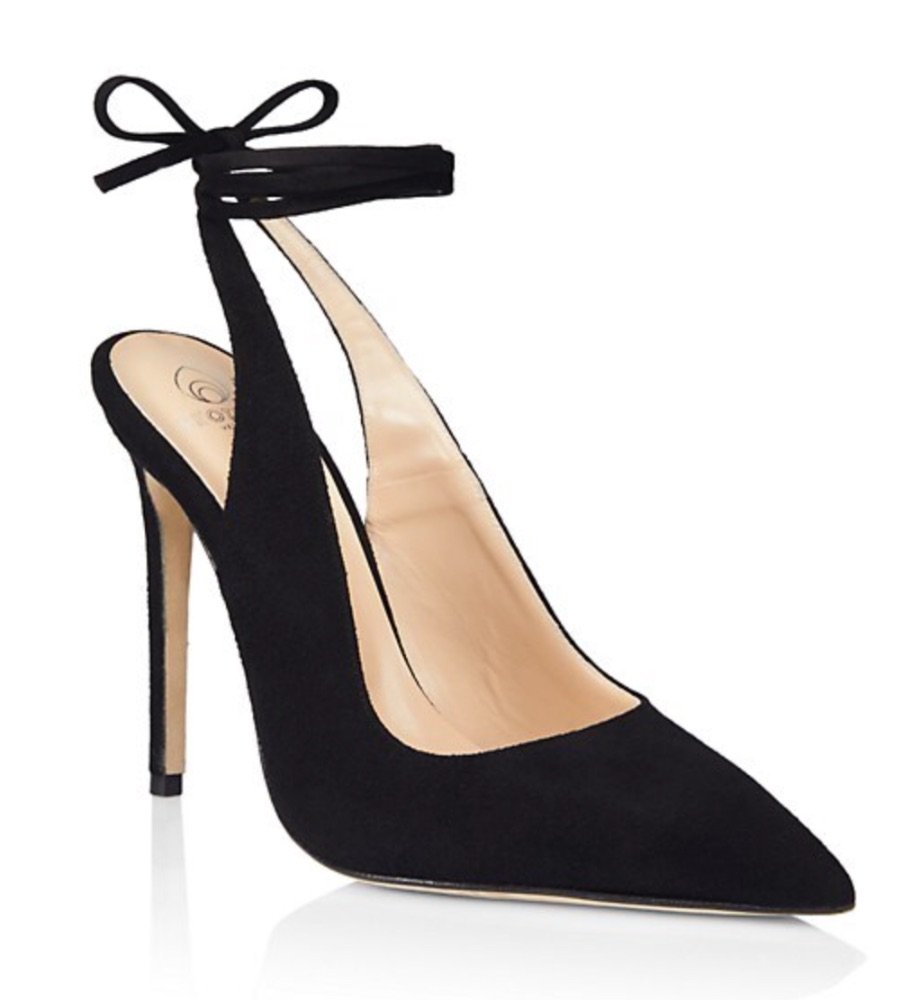 Brother Vellies Ribbon Suede Pumps