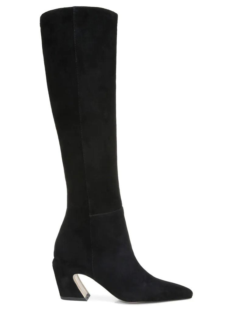Sam Edelman, boots, black boots, pointed-toe boots, heeled boots
