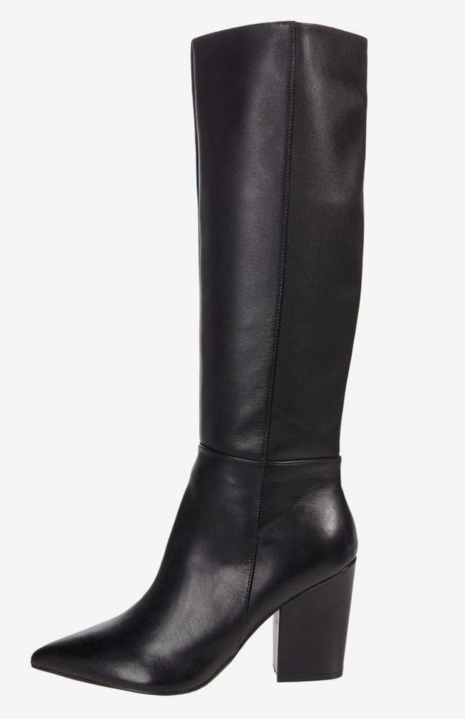 Nine West, boots, black boots, pointed-toe boots, heeled boots