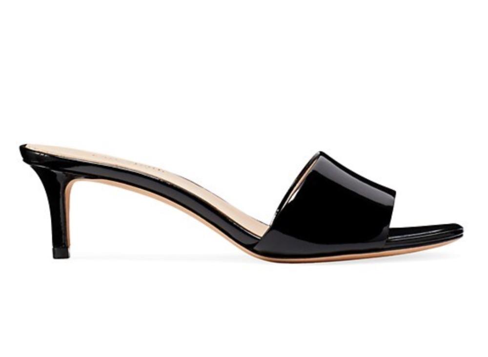 kate spade new york Savvi Patent Leather Mules