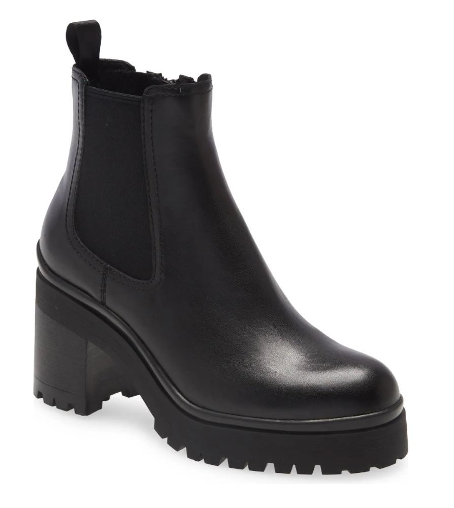 Jeffrey Campbell Escob Platform Chelsea Boot