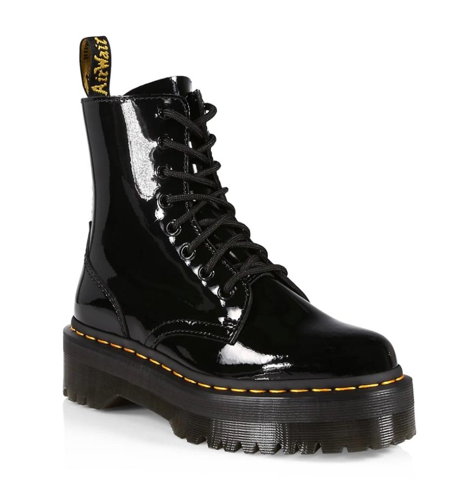 Dr. Martens Jadon Patent Leather Boots