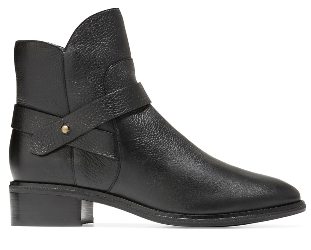 Cole Haan, boots, black boots, leather boots, ankle boots