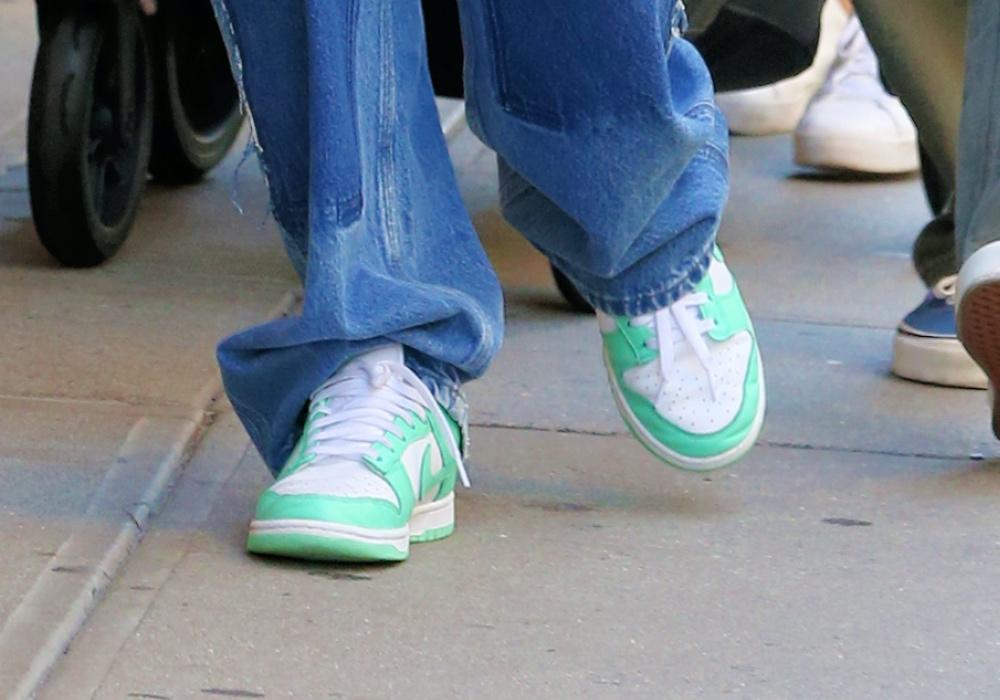 Sophie Turner, NYC, Nike, sneakers