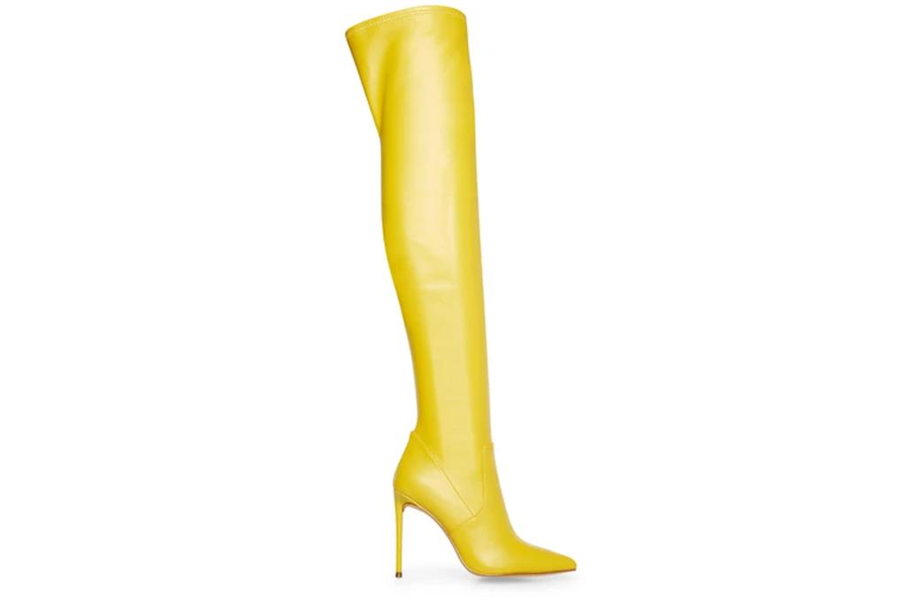 Steve Madden Vava Yellow Boots