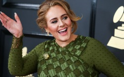 adele, gown, vogue, dress, cover, heels