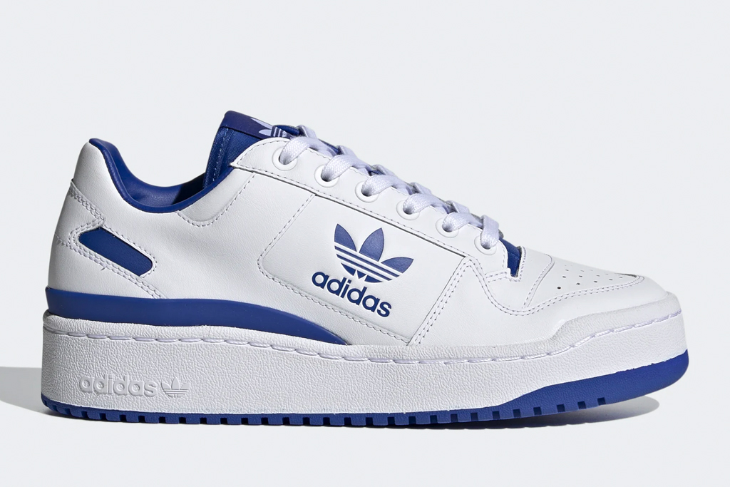 blue sneaker, adidas