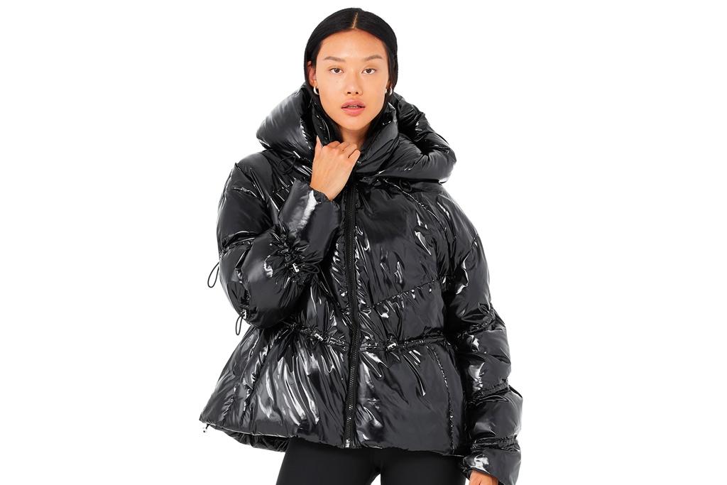 alo, jacket, puffer jacket, coat, sherpa