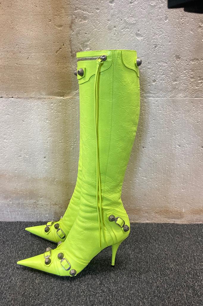 Balenciaga, Cagole Boot, spring 22
