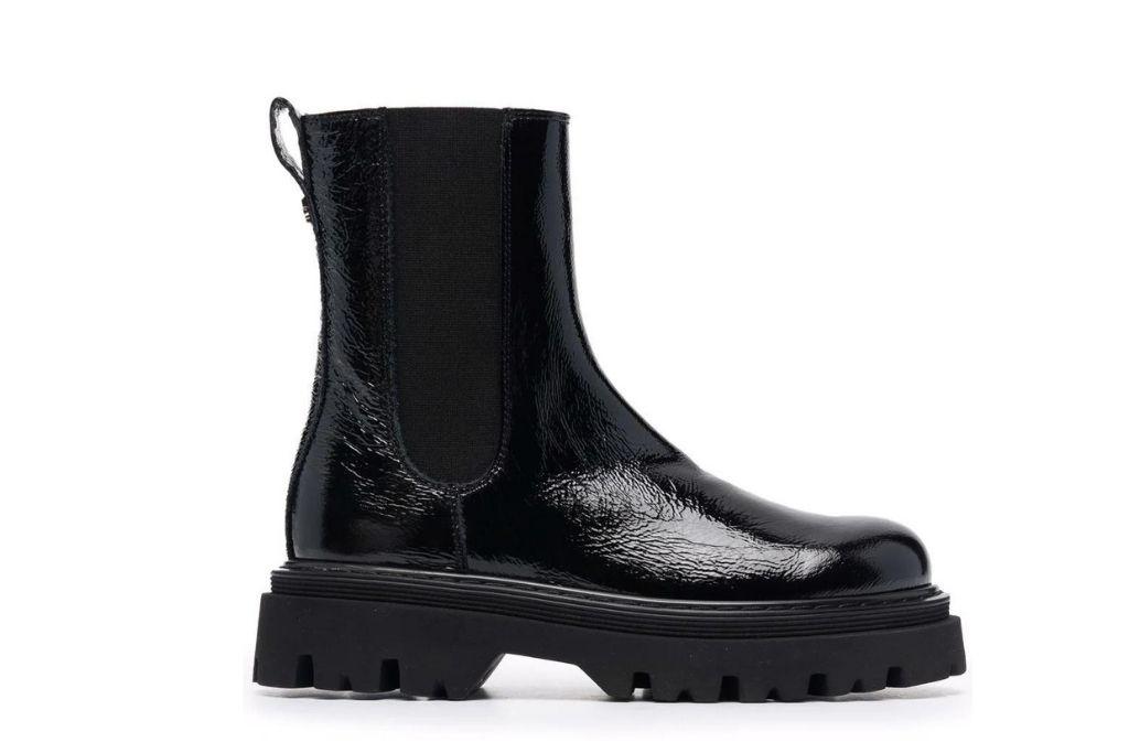 Casadei, black boots