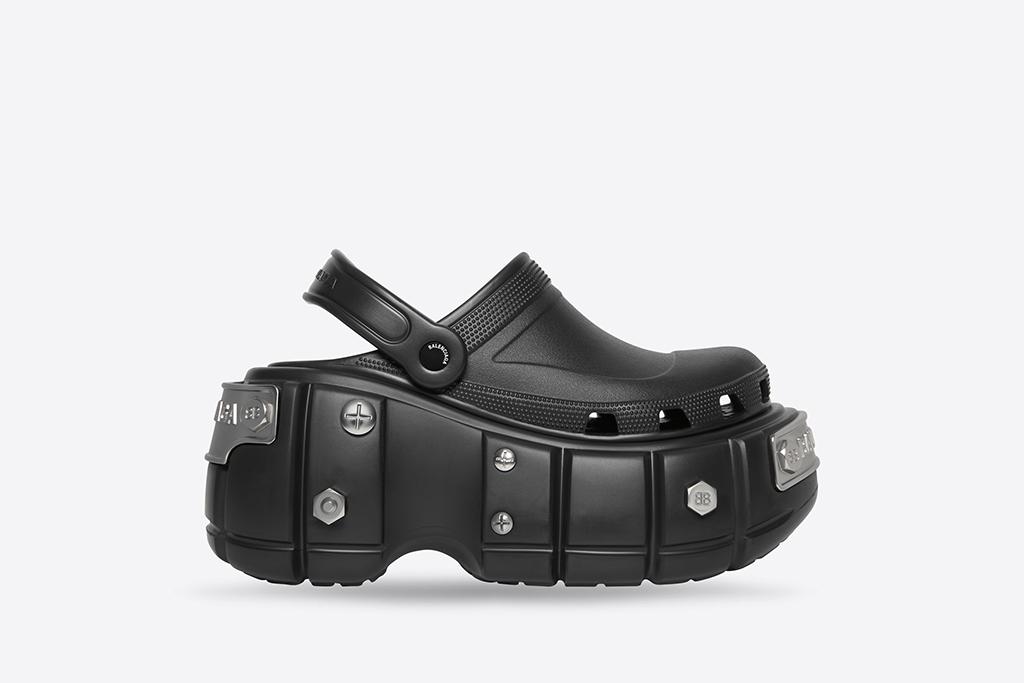 Crocs, Balenciaga, hard platform