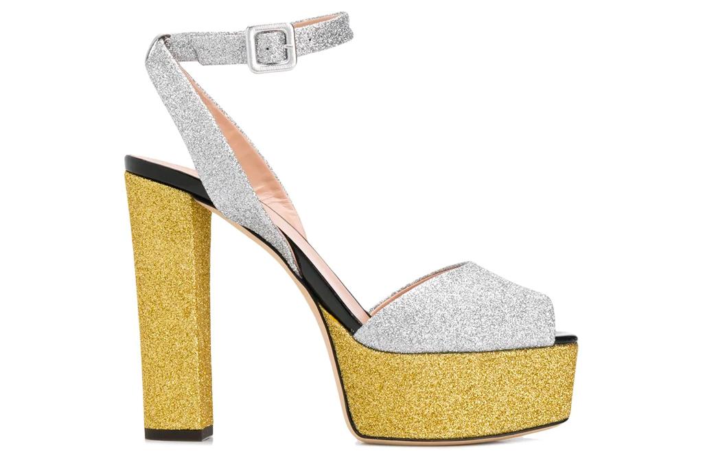 glitter heels, platforms, giuseppe zanotti