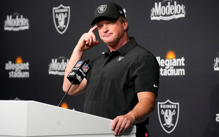 Las Vegas Raiders Jon Gruden