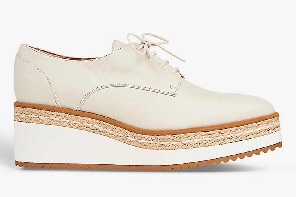platform brogues, shoes, lk bennett