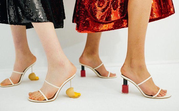 loewe, loewe spring 2022, loewe shoes, loewe spring 2022 heels, pfw, paris fashion week, paris fashion week top shoes, spring 2022 top shoes