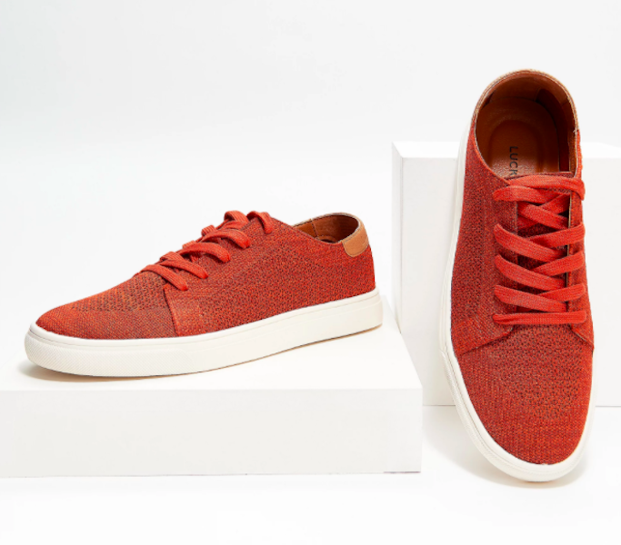 Lucky Brand Leigan Casual Knit Sneaker