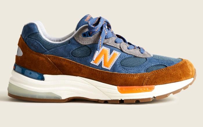 jcrew, new balance, 992, new york sneaker