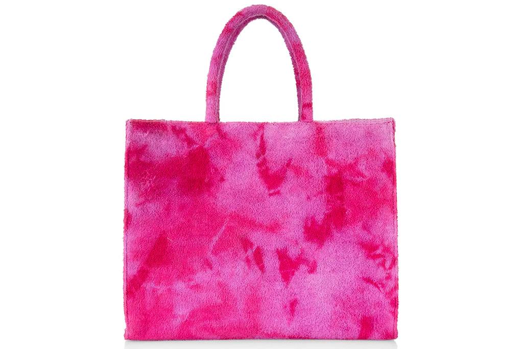 pink bag, tote