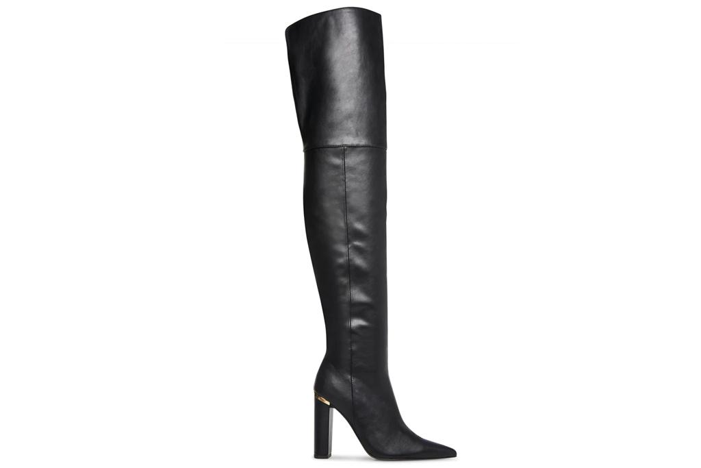 steve madden, thigh high boots