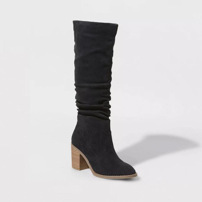 Universal Thread Lainee Heeled Scrunch Boots