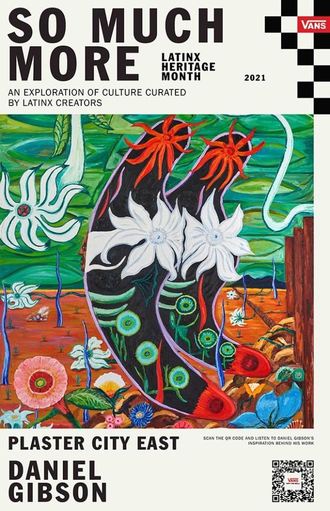 vans latinx heritage month posters