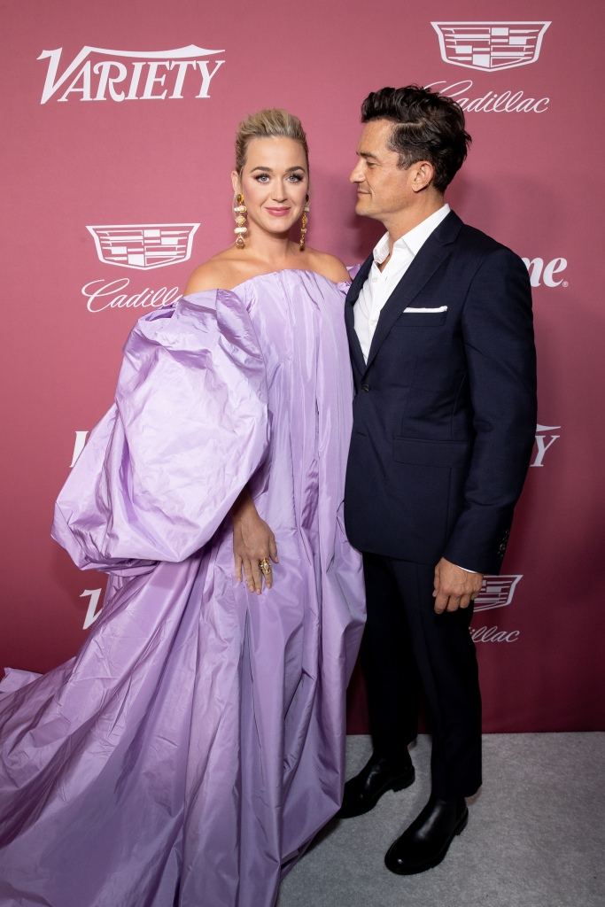 BEVERLY HILLS, CALIFORNIA - SEPTEMBER 30: Katy Perry and Orlando Bloom arrive at Variety's Power of Women event presented by Lifetime on September 30, 2021 in Los Angeles, California. (Photo by Emma McIntyre/Getty Images for Variety)