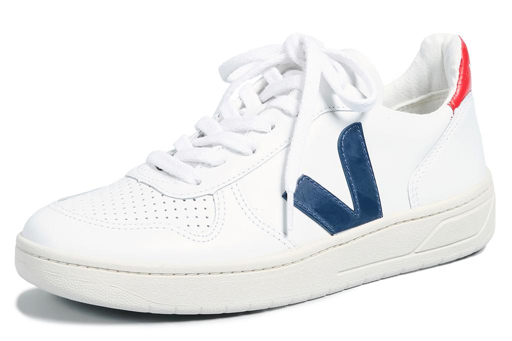 blue sneaker, veja