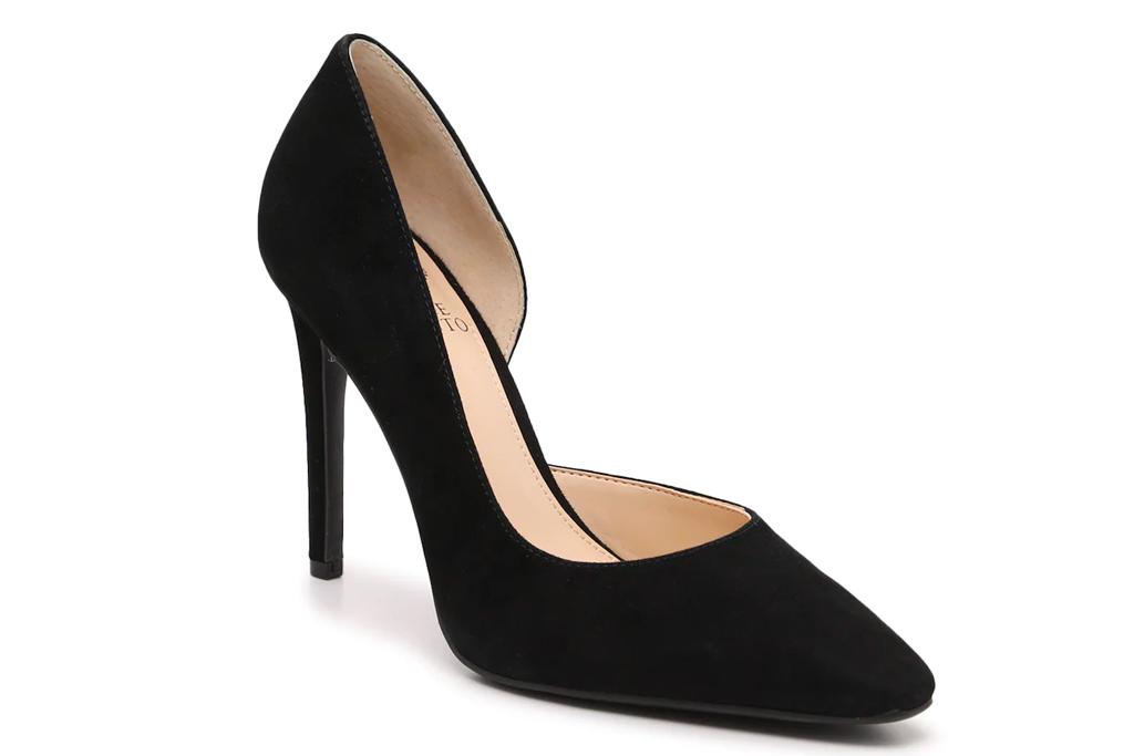 black pumps, heels, vince camuto